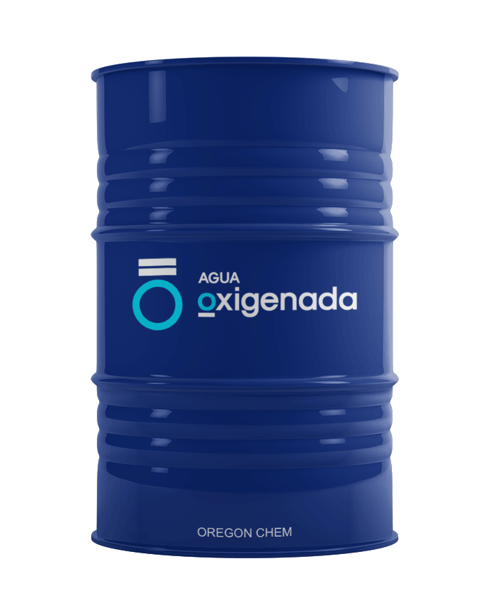tambor agua oxigenada
